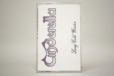 Cinderella- Long Cold Winter- Cassette Tape- 834 612-4