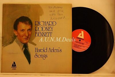 "Richard Rodney - Bennett-Harold Arlen's Songs, Record 12"" VG"