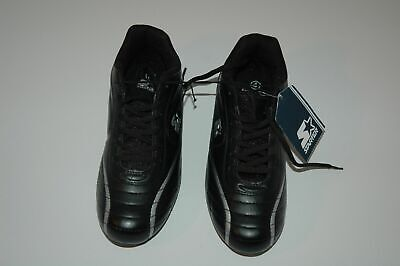 Starter Boys cleats all purpose  size 4 black with silver trim nwt