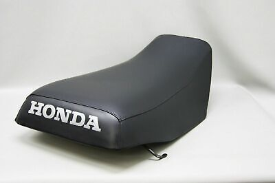 HONDA TRX300 Fourtrax Seat Cover in BLACK, 2-tone options & 25 Colors (ST)