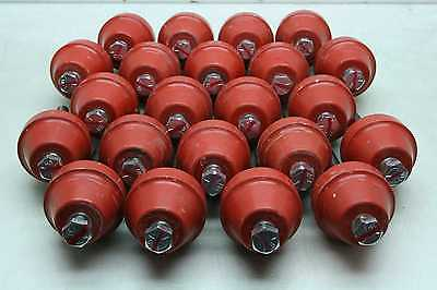 22 Glastic 1872-2c Standoff Busbar Insulators 12-13 Threads 4500v 3 High