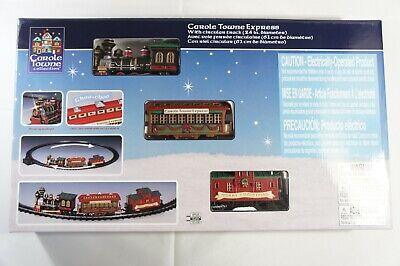 "NEW Lemax -Carole Towne Express -Holiday Village Train Set w/ 24"" Circular Track"