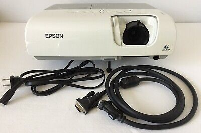 Epson PowerLite S5 LCD Portable Projector Bundle Ceiling Mount or Table Top