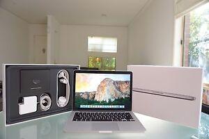 """Macbook Retina 13"""" 2013 + 500GB SSD 8GB RAM + AS NEW + Windows! Melbourne CBD Melbourne City Preview"""