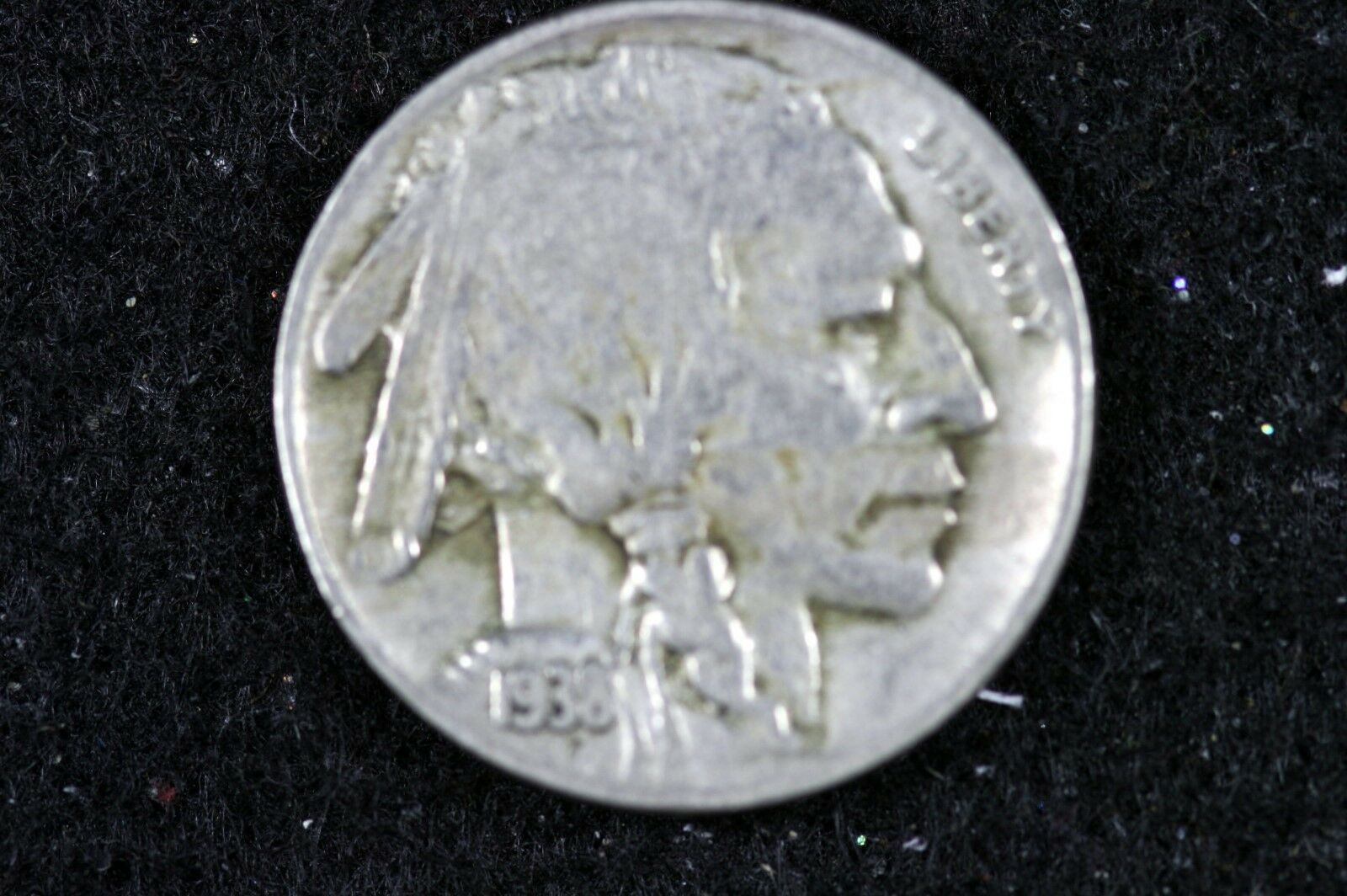 Estate Find 1938 - D Buffalo Nickel F7973 - $2.50