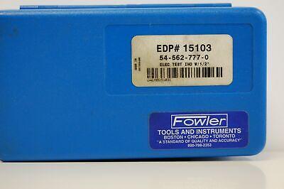 Fowler Sylvac 7807322 Indicator