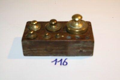 C116 Ensemble de poids pharmacie