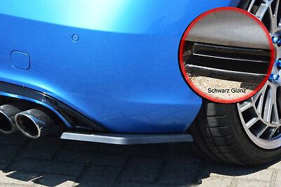 Heckansatz Spoilerecken Seite ABS Mercedes A-Klasse W176 Urban schwarz glanz