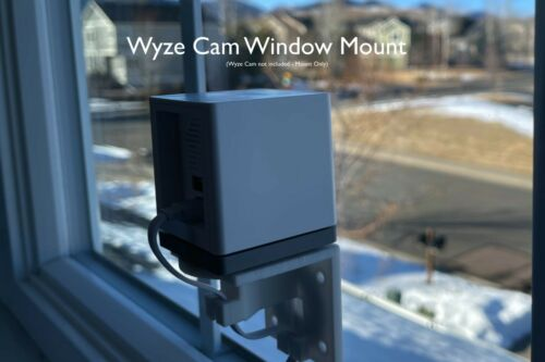 Wyze Cam Window and Wall Mount for v2 and v3