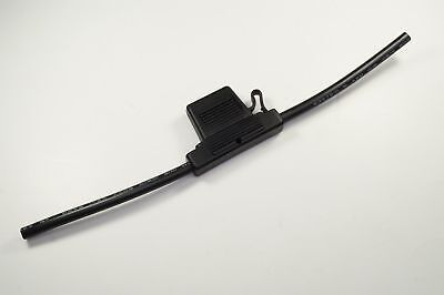 Lpx-01b-6 Optifuse Inline Maxi Blade Fuse Holder 80a 32v 5 6awg Leads New