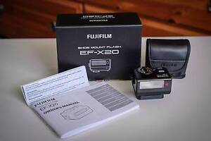 FUJIFILM EF-X20 FLASH - COMPATIBLE WITH FUJI X-SYSTEM CAMERAS West Pennant Hills The Hills District Preview