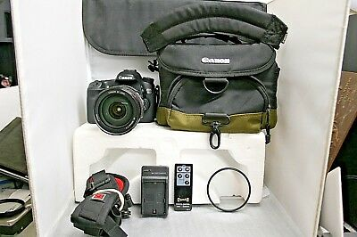 Canon EOS 70D 20.2MP Digital SLR Camera - (Kit w/ EF 1:4 IS USM Lens) & Extras