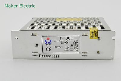 T-30a 30w Dc5v Dc12v Dc-5v Triple Output Switching Power Supply Adapter