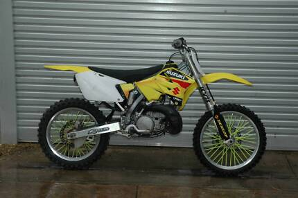 Suzuki RM250, 3 month warranty, recent rebuild, good condition