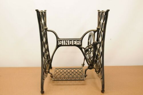Singer Sewing Machine Cast Iron Base Stand