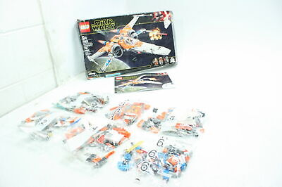 LEGO Star Wars Poe Dameron's X-Wing Fighter 75273 Building Kit 761 Pieces Toy