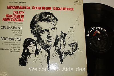 Richard Burton/ Claire Bloom/ Oskar Werner LP (G) 12""