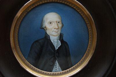 Miniatura Ritratto uno Uomo in Nero Rock circa 1780 Marie Antoinettes-Zeit comprar usado  Enviando para Brazil