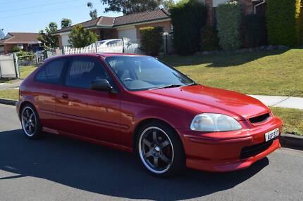 1998 Honda EK Civic - 6 months rego, excellent condition
