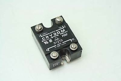 Crydom D1d210 Solid-state Relay 3-32v Dc Control Switch Rated 120v 10a