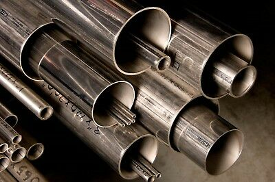 Alloy 304 Stainless Steel Round Tube - 4 X .065 X 48
