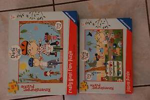 Charlie & Lola jigsaw puzzles plus 3 other jigsaw puzzles Middle Park Brisbane South West Preview