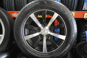 """4 SET 15"""" SPORT WHEELS WITH TYRES HOLDEN PATERN + GOOD CONDITION Virginia Brisbane North East Preview"""