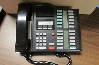 Used Nortel Networks M7324 Nt8b40ec-03 Black Office Phone