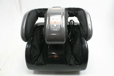 Human Touch Reflex Swing Pro Leg Massager w Advanced CirQlation Motion Black