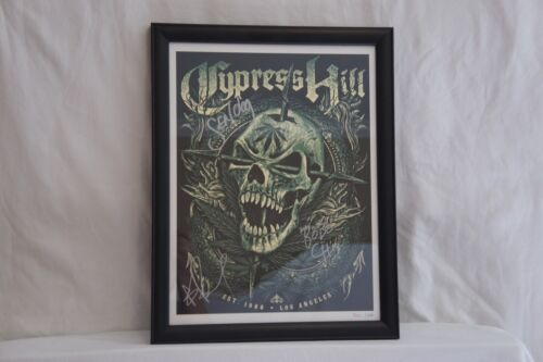 Cypress Hill Poster - Framed, Signed By All Members