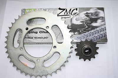 Kettensatz Kette Ritze Kettenrad Barossa 250 kreidler Quad RAM SMC