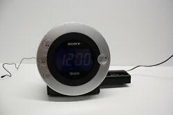 Sony Dream Machine CD Am/ Fm Radio Alarm Clock. ICF-CD31P with Remote!  TESTED