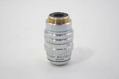 Nikon 143684 Fluor 401.30 Oil 1600.17mm Tl Microscope Objective