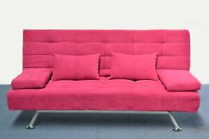 Victora 3 seater metal frame sofa with roseberry and grey color Kingsgrove Canterbury Area Preview
