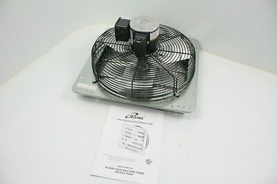 Iliving 16 Inch Wall Mounted Exhaust Fan Automatic Shutter Variable Speed