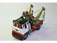 spare part No.1142//1137 Corgi Holmes Wrecker  Air Horns White Metal Casting