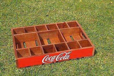 Coca Cola Holzkiste Coca Cola Tablett - Partybox - TOP ++++