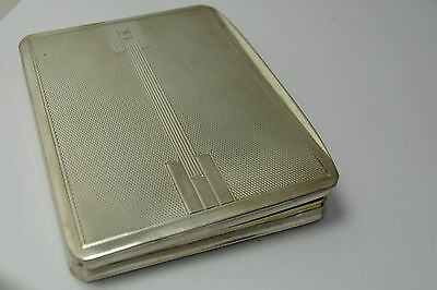 Zigarettenetui 800er Silber  Art-Deco
