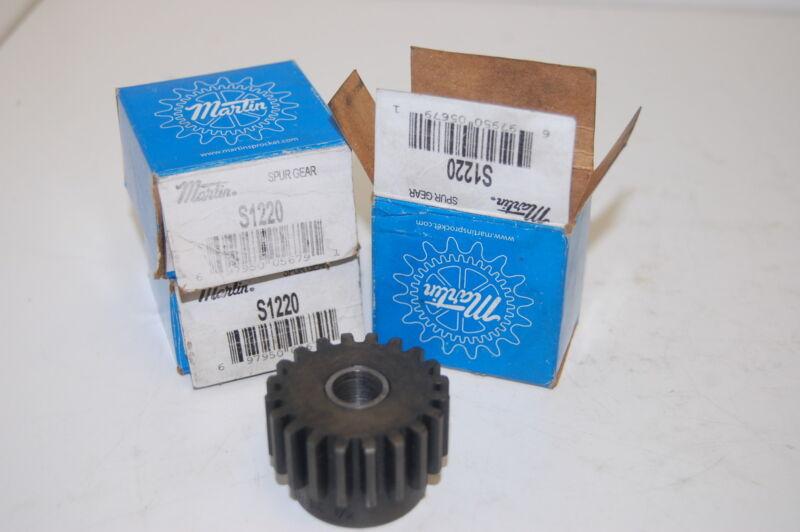 (3) NIB Martin S1220 External Spur Gears