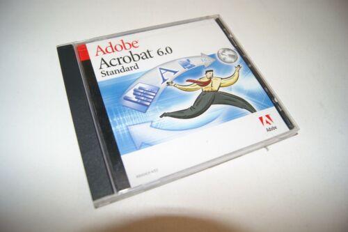 Adobe Acrobat 6.0 Standard PDF Genuine Full Version Windows with Serial Number