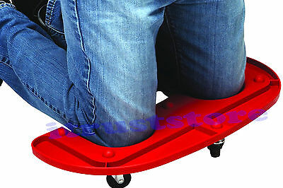 ROLLING PLATFORM KNEE PADS CUSHION GARDENER CREEPER WITH WHEEL SEAT BOARD ROLLER