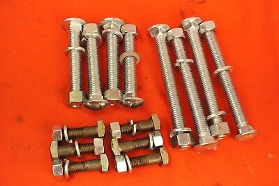 Ih Farmall A Super A Av B Bn 100 130 Front Rear Wheel Weight Bolt Set Kit