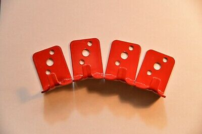 Lot Of 4 New Hook Style Wall Mount 10 Universal Fire Extinguisher Bracket