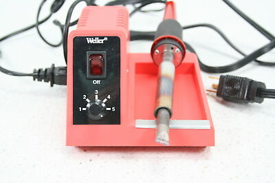 See Notes Weller Wlc200 80 Watt Hobby Stained Glass Soldering Station Adjustable