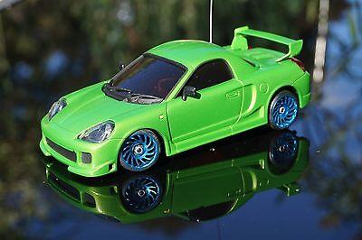 Toyota MR-02 in grün Rarität+neue  Karosse  für MR-02 für  Mini-Z neu ovp+TOP+1a