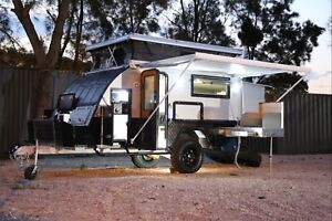 12ft 2017 single Axle Pop Top Caravan, ensuite & bunk model. Milperra Bankstown Area Preview