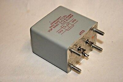 Utc Bmi-400 Band Pass Filter 100-566