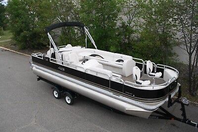 New 24  fish and fun Grand Island pontoon boat