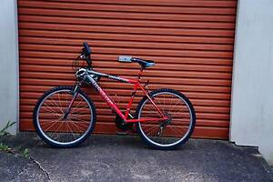 red mountain bicycle in perfect condition Waratah West Newcastle Area Preview