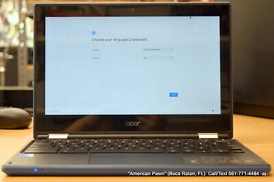 "Acer Chromebook R11 CB5-132T-C67Q Touchscreen 11.6"" IPS 4GB Mem 32GB SSD"